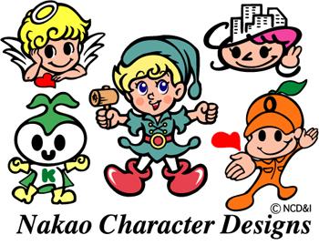キャラクターイラスト中尾正也ギャラリー日本イラストレーター協会
